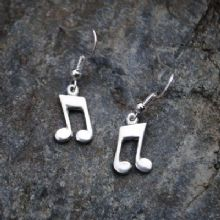 Music earrings E95